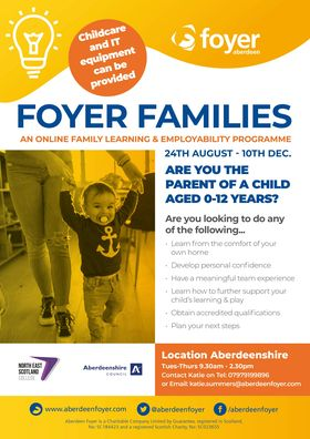 FREE online course - Foyer Families